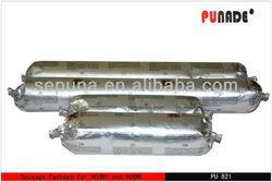 Single component polyurethane construction sealant of low modulus