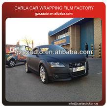 1.52x30m/roll air bubble free black matte vinyl wrap car price