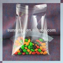 Clear self adhesive plastic bags