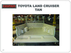 Toyota land cruiser bed liner pick up liner