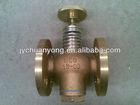 fuel oil tank self closing drain valve,JIS F7398,F type,flange end