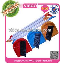 plastic broom and dustpan set , VA128
