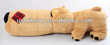 60cm brown dog with long face plush toy dog| new design and hot sale
