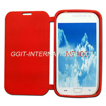 Hot Sell Mobile Phone TPU Flip Case for Samsung N7100 Galaxy Note 2 Flip Cover