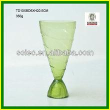 Glass Color flower murano vase
