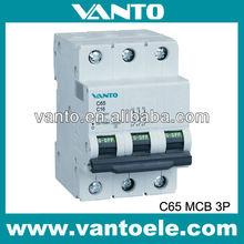 DZ65-63(C65N) 3P Electrical Circuit Breaker