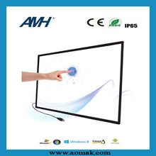 "37"" 4 point IR touch screen technology"