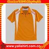 Custom popular casual color combination zipper collar original mens polo t-shirts men 2013