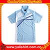 Custom new design comfortable casual cotton color combination collar design polo shirts 2013