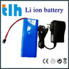 Small size light weight 12v li-ion battery pack with charger