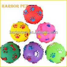 Non-toxic PVC Squeaky Dog Toy chew toy ball
