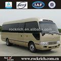 Vente chaude!! Dongfeng 7m 28 neuf sièges minibus coaster pour la vente