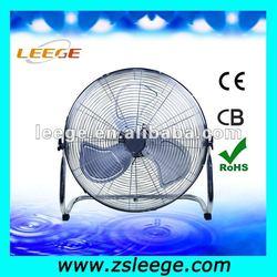 20'' unique outdoor floor fans / industrial floor fan with strong wind