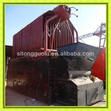 SZL Shop Assembled Double Drum Wood Pellet Fired Boiler