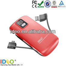 New INNOVATIVE 4400mah recycle power bank for Iphone