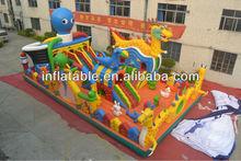 Открытый осьминог надувные город для детей