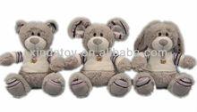 Different ears plush teddy bear