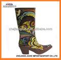 mode cowboy bottes de pluie pour les femmes