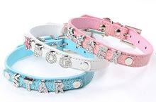 rhinestone dog collar factory price MOQ 10pcs