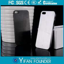 Luxurious smooth metal back cover case for iphone 5s , brushed aluminum back case for iphone 5