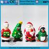 custom mini plastic christmas figurine,TPR injection plastic figurines,plastic christmas figurines for Christmas