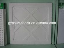 hot sale natural gypsum ceiling 595*595*14