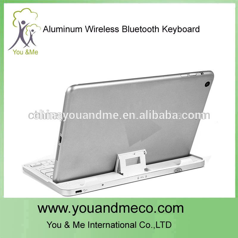 Aluminum White color laptop keyboard for iPad mini