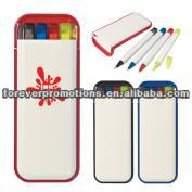 5-In-1 Desktop Writing Set -Red