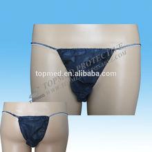 Sanitary Disposable Men Tanga/g-string/pants/briefs For Beauty Salon
