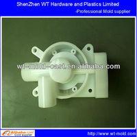 POM+GF oil valve injection moulding