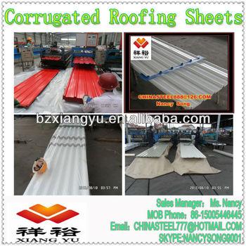 PPGI/GI Corrugated Steel Sheet/Metal Roofing