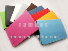 3 fold PU Leather Wake/Sleep Smart Cover Case for iPad mini