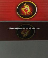 Stainless Steel Sheets ,Mirror Surface Black Titanium