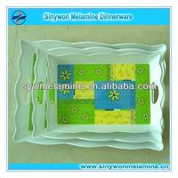 New Design Rectangle Plastic fruit tray