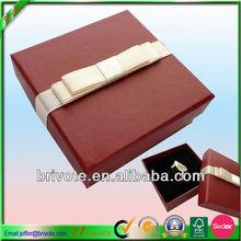 Custom ring box/velvet jewelry box ring packing box