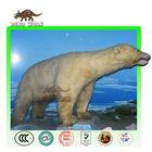Animatronic Polar Bear in Scientific Museum