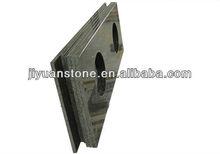 Manufacture Excellent Quality Natural granite Baltic Brown Granite Vanity Top Above Double Ceram