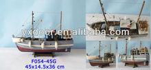 Fishing Ship Model 45CM (F054-45G), 2013 NEW DESIGN