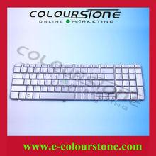 Original Laptop Silver Keyboard For HP Pavilion DV7 Keyboard US Layout