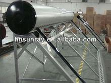 300L non-pressurized galvanized steel solar water heater system