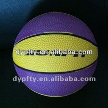 custom logo printed basketballs size 7#