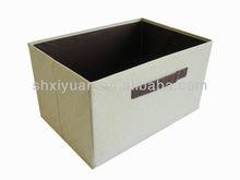 pure color canvas storage box