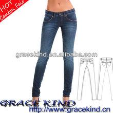 2014 Models Of Fabric Blouses Stocklot Jeans Skinny Ladies Denim Jeans(GK0517195)