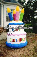 Promotional Inflatable Birthday Cake