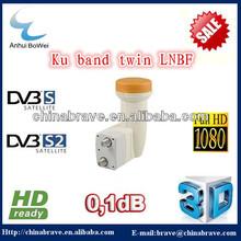 LNB TWIN 0.1dB DIGITAL Full HD 1080p Switch HDTV 3D