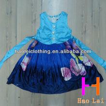 kid cloth wedding dress sleeveless latest girls dresses