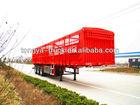 cargo/cattle/three axle semi trailer transport for sale