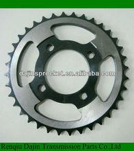 Dajin 1045 steel wave125 motorcycle sprocket /motorcycle rear sprocket/sprocket kit