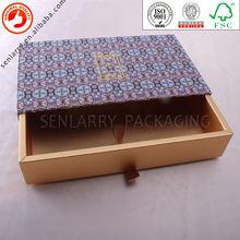 gold stamping logo patterned cardboard storage boxes