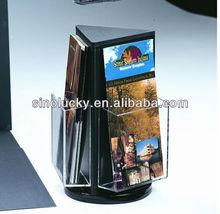 2013 hot acrylic book stands/customized acrylic book stands/acrylic book stands manufacturer